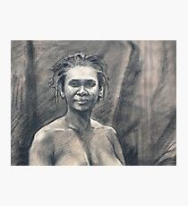 Portrait of Kuntamari Photographic Print