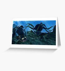 In Alien Seas Greeting Card