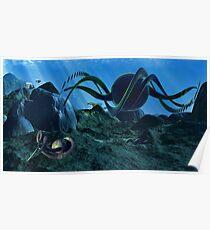 In Alien Seas Poster
