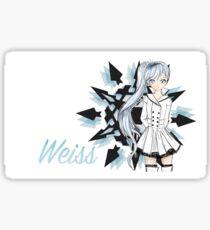 Weiss  Sticker