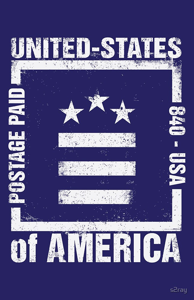 Postage Paid USA by s2ray