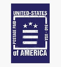 Postage Paid USA Photographic Print