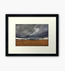 Az eső lába (the rain in HDR) Framed Print