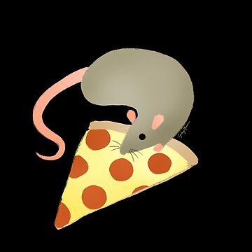 NYC Rats ❤︎ Pizza by sydneynewman
