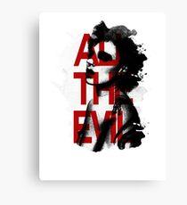 All the Evil Canvas Print