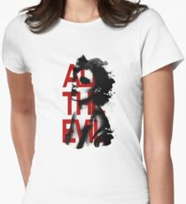 All the Evil Womens Fitted T-Shirt