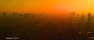 smoggy Bangkok sunrise by Karl David Hill