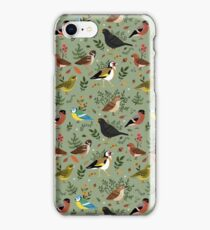 Garden Birds iPhone Case/Skin