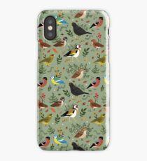 Garden Birds iPhone Case/Skin