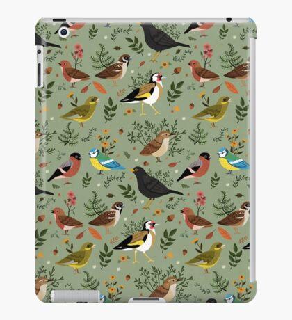 Garden Birds iPad Case/Skin