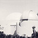 Sir Thomas Brisbane Planetarium through a pinhole by Duncan Waldron