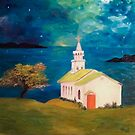 Painted Church by Melonie Wallace