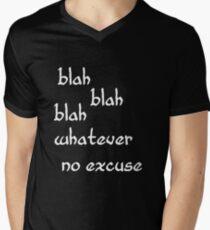 Blah Men's V-Neck T-Shirt