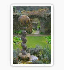 The Walled Garden, Hartland Abbey Sticker