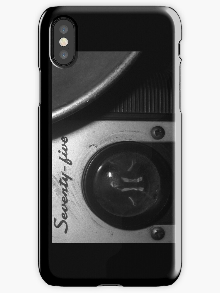 The Man in the Camera iphone by Margaret Bryant