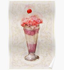 Sweet - Ice Cream - Ice Cream Float  Poster