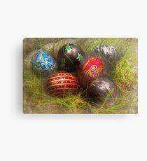 Spring - Easter - Easter Eggs  Metal Print