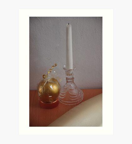 simplicity and decoration... Art Print