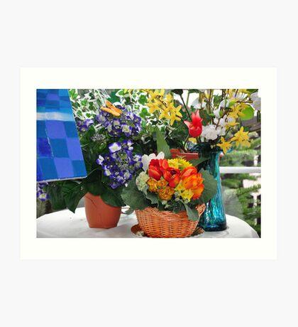 beautiful corner - the home series Art Print
