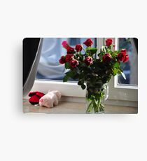 flowers at home... Canvas Print