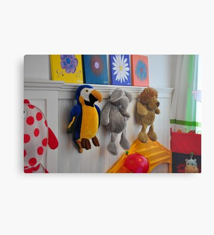 toys on the wall Metal Print