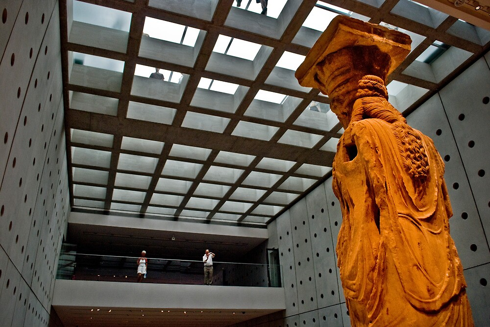 New Acropolis Museum / Caryatid by Clockworkmary