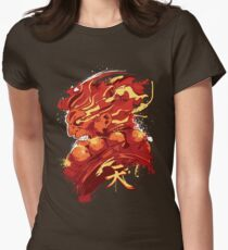Gouki (RED) Womens Fitted T-Shirt