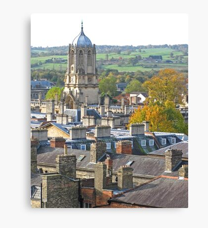 Tom Tower, Oxford Canvas Print