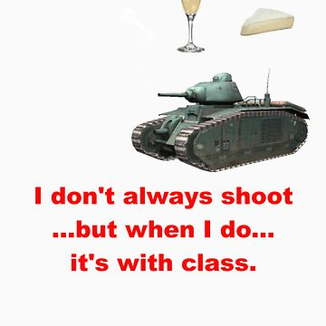 Pierre's shirt, World of tanks by bronzestout