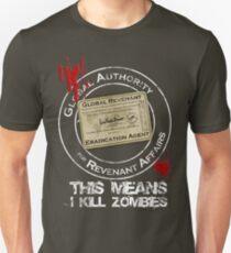 Global Revenant Eradication Agent Unisex T-Shirt
