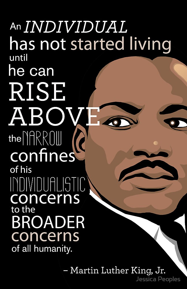"""""""Inspirational Quote: Martin Luther King Jr."""" by salingjj ..."""