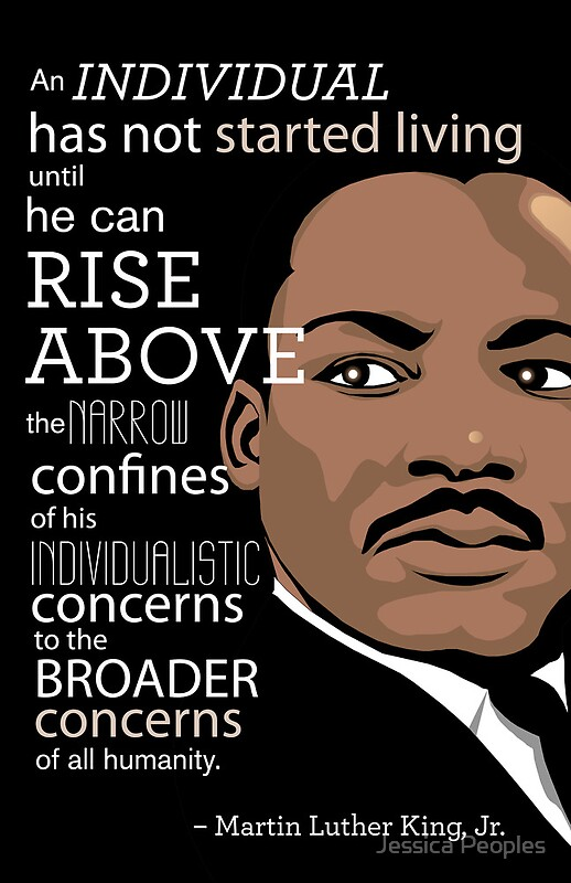 """Images Of Martin Luther King Quotes Best Inspirational Quote Martin Luther King Jr."""" Posterssalingjj"""