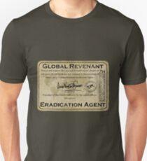 Global Revenant Eradication Agent - ID badge Unisex T-Shirt