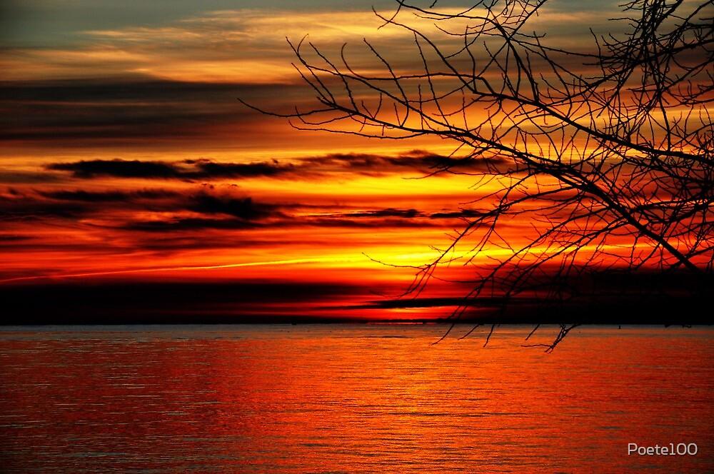 Sunburst Sunrise by Poete100