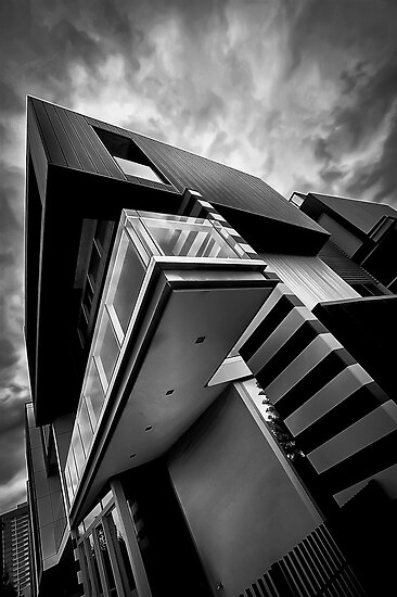 Docklands Architecture by Paul Louis Villani