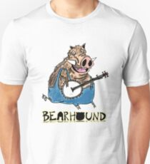 Hog Playing Banjo Unisex T-Shirt