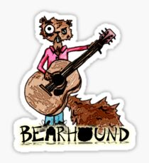 Squirrel Playing Guitar Sticker