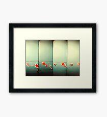 Sky Dragons Framed Print