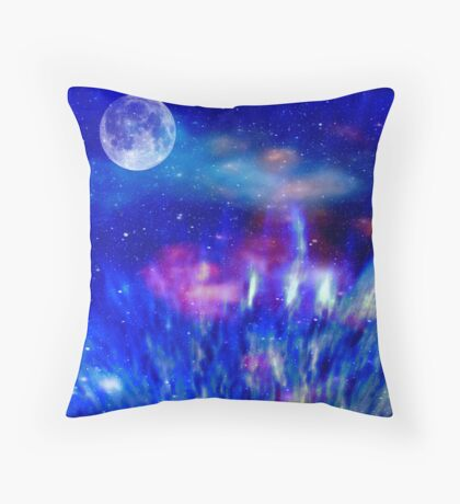 JOURNEY INTO THE UNIVERSE Throw Pillow