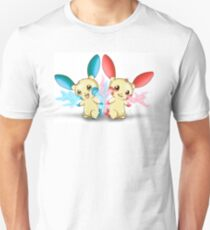 Pokemon: Plusle and Minun Attack Together! T-Shirt