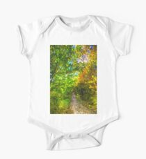 The Forest Path Art One Piece - Short Sleeve