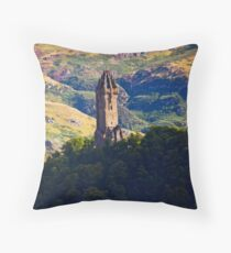 The Wallace Monument Throw Pillow
