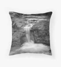 Cracked Rock Throw Pillow