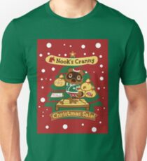 Tom Nook's Christmas Sale Unisex T-Shirt