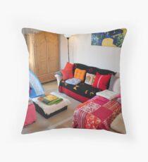 cozy livingroom... Throw Pillow