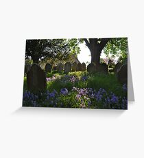 Spring Afternoon: Westerham Greeting Card