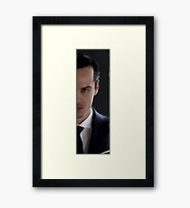 BBC Sherlock James Moriarty Painting Framed Print