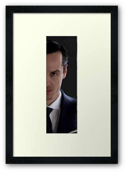 BBC Sherlock James Moriarty Painting by BakerSt221B