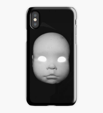 Creepy Doll Head iphone iPhone Case/Skin