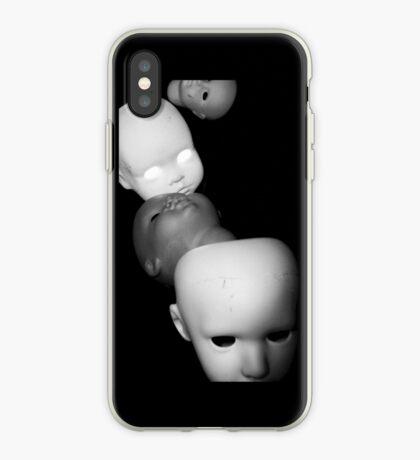 Creepy Multiple Dolls Heads iphone iPhone Case